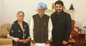TKSS latest news: Kapil Sharma meets Ex-Prime Minister Manmohan Singh