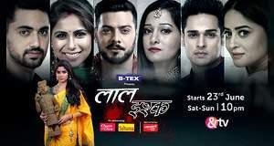 Laal Ishq casts actors Manish Kumar Sharma Kaushiki Rathore & Aishwarya Khare