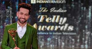 Nakuul Mehta bags best actor award at Indian Telly Awards