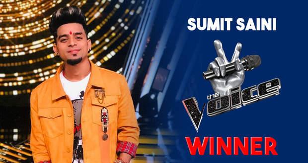 The Voice India 3 latest news: Sumit Saini wins The Voice India Season 3