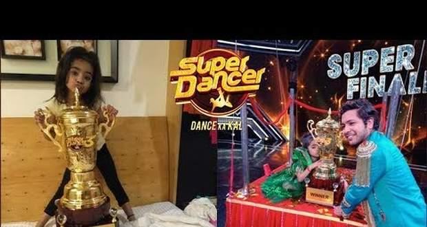 Super Dancer 3 Winner (Rupsa), Runner-Ups (1st, 2nd, 3rd) places, Prize Money