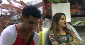 Bigg Boss 14 GOSSIP: Eijaz Khan-Nikki Tamboli get in a fight