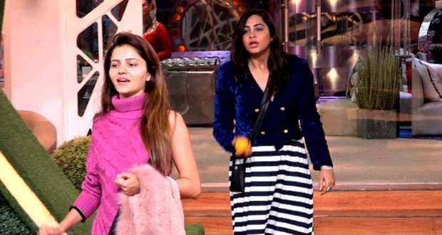 Bigg Boss 14 5th January 2021 Written Update: Arshi Khan fights Rubina Dilaik