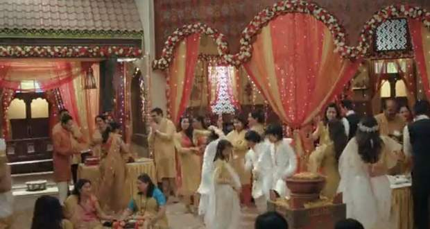 Pandya Store 30th January 2021 Written Update: Gautam-Anita's Haldi Ceremony