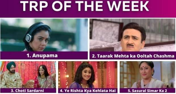 Star Plus Top 5 Shows, Zee High Rated Series, Best 2 Colors & Sony TV Serials