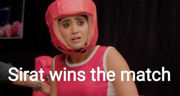 Yeh Rishta Kya Kehlata Hai: Sirat wins the match and falls unconscious