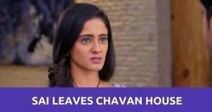 Ghum Hai Kisi Ke Pyaar Mein: Sai leaves Chavan house to stay with Devyani