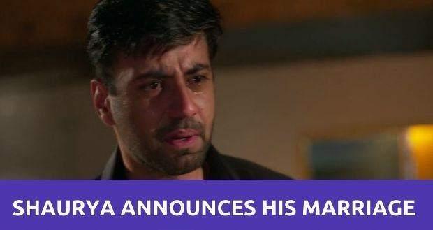 Shaurya Aur Anokhi Ki Kahani: Shaurya announces his marriage with Shagun