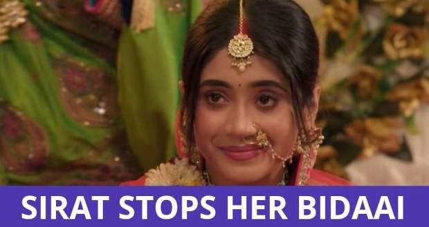 YRKKH: Sirat runs back to Kartik during her Bidaai