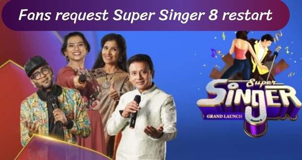 Super Singer 8 5th June 2021, 6th June 2021: Fans await Season 8 show restart
