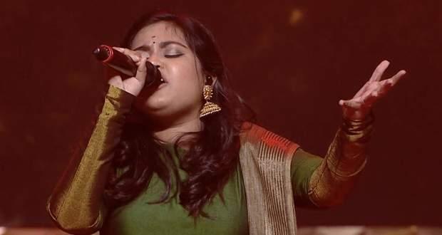 Super Singer 8: Anu Anand's outstanding performance, Kanda Vara Sollunga Song