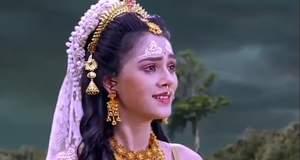 Radha Krishna Gossip: Radha decides to leave for Golok alone