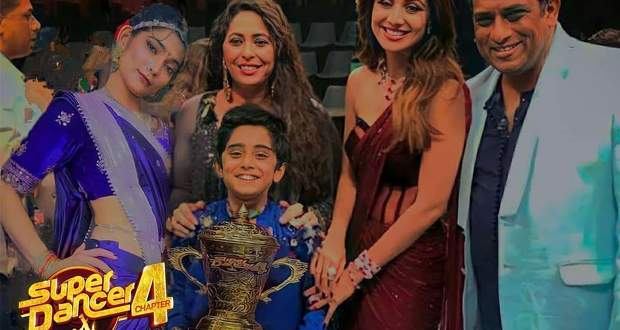 Super Dancer 4 Results, Prize Money, Runner up, 1st 2nd 3rd 4th 5th Place List